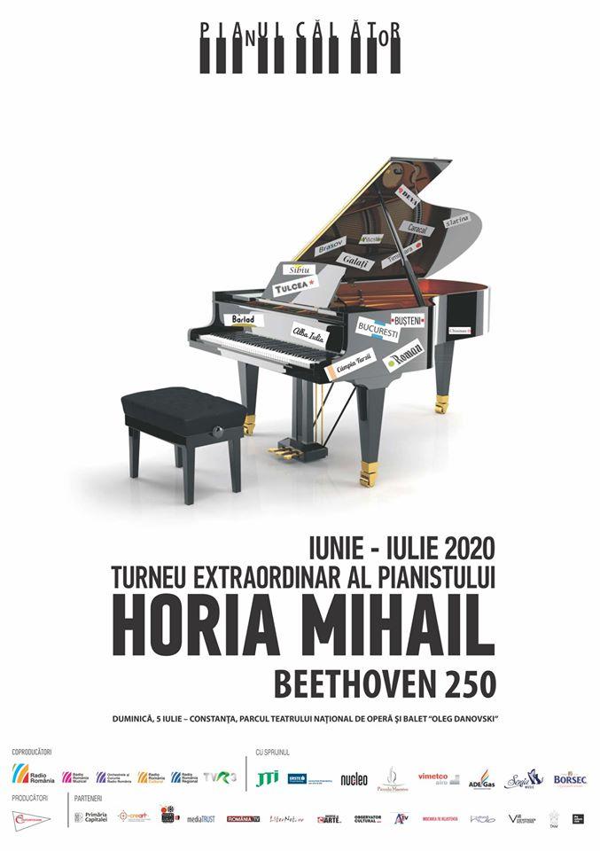 "Horia Mihail – Turneul ""Pianul Calator"""
