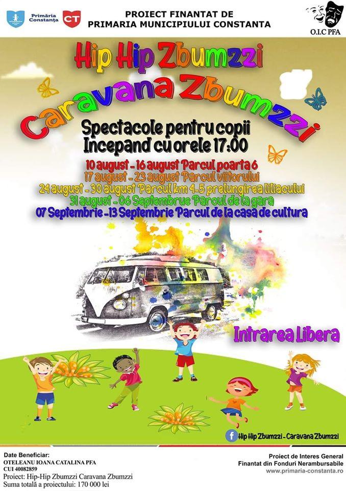 Caravana Zbumzzi vine în cartierul tău!