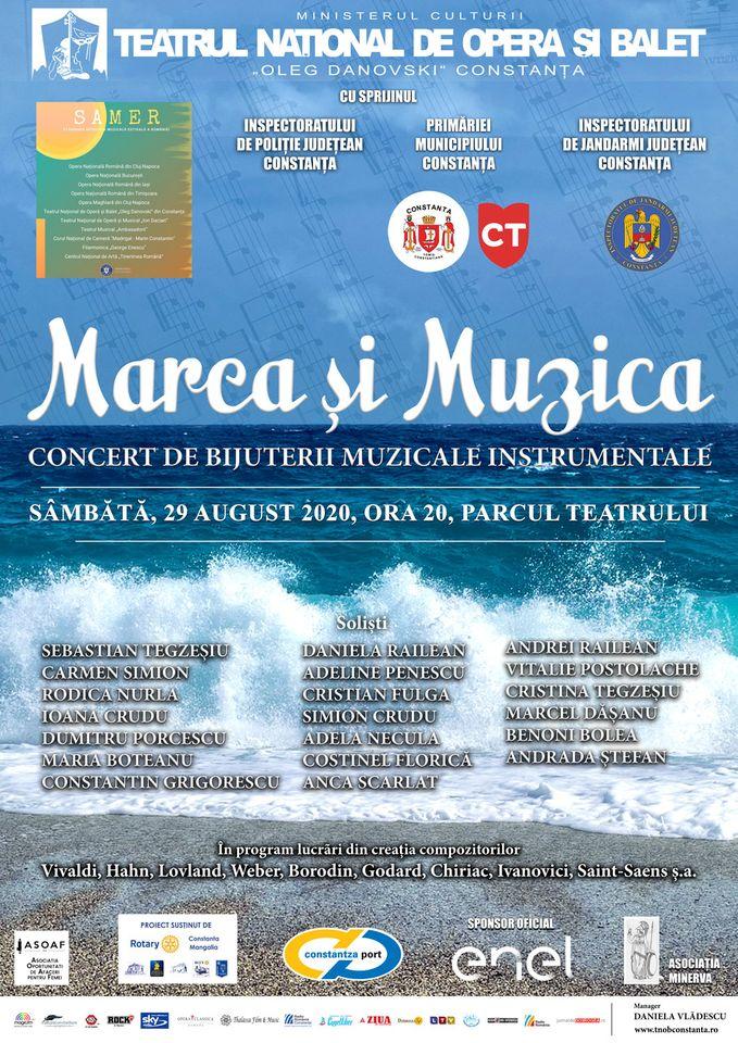 MAREA ȘI MUZICA – Concert de bijuterii muzicale instrumentale