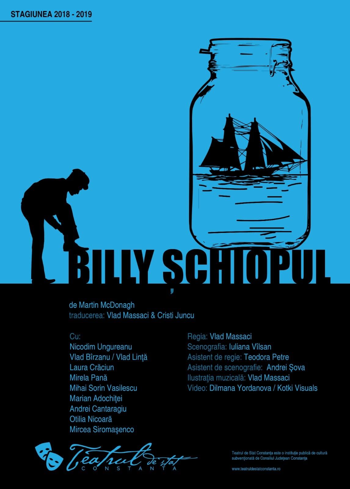 BILLY ȘCHIOPUL de Martin McDonagh