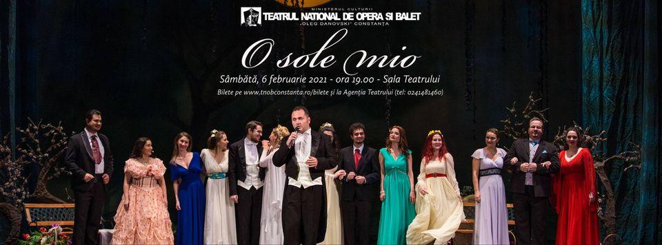 O sole mio la Teatrul Național de Operă și Balet Oleg Danovski