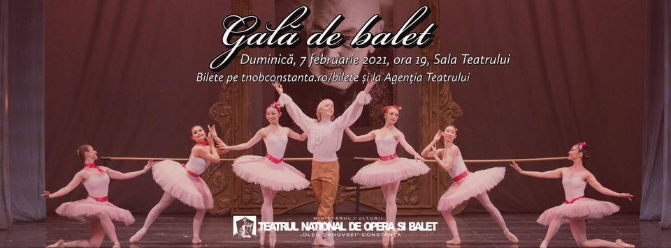 Gală de balet la Teatrul Național de Operă și Balet Oleg Danovski