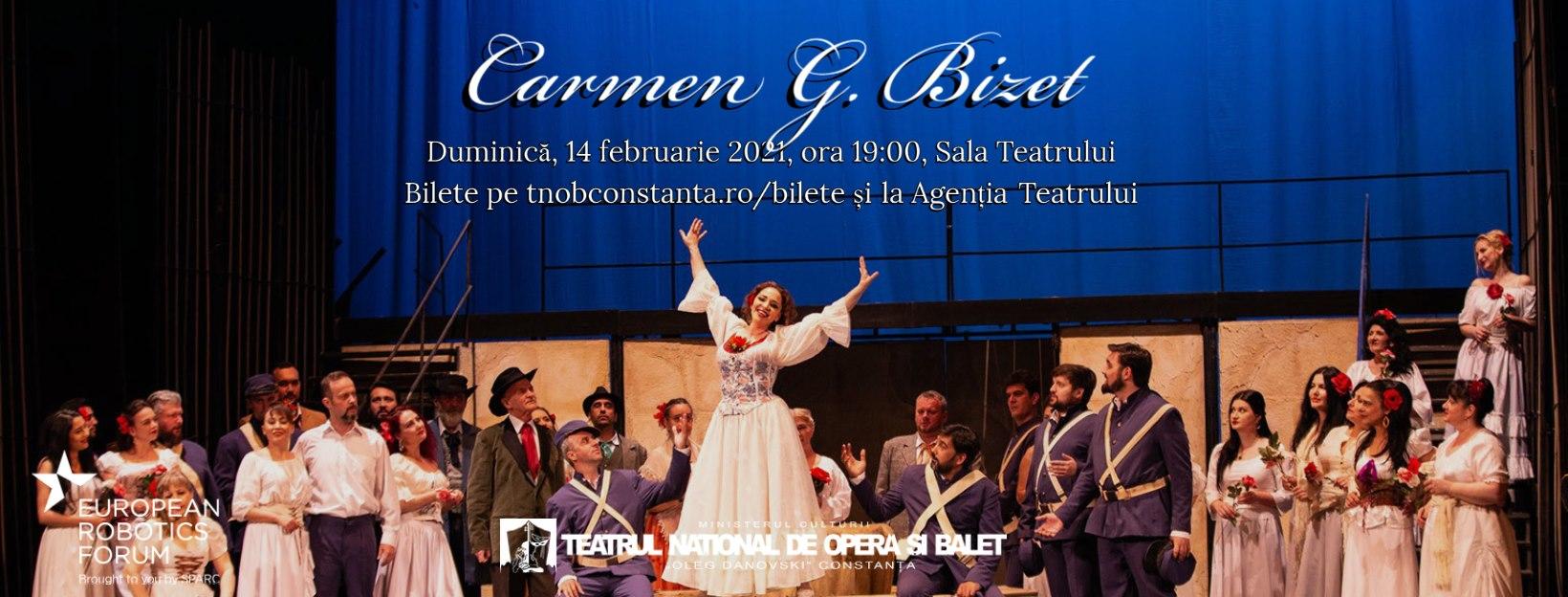 Carmen de G. Bizet la Teatrul Național de Operă și Balet Oleg Danovski