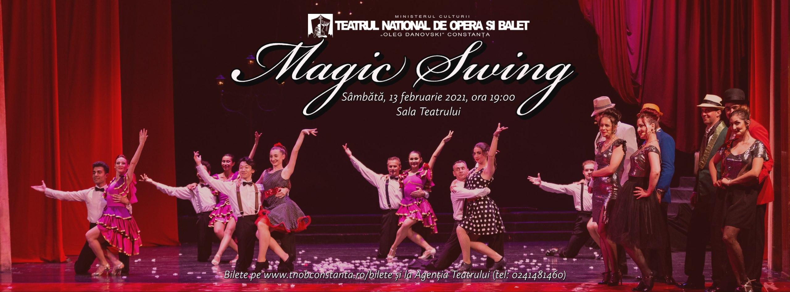 Magic Swing la Teatrul Național de Operă și Balet Oleg Danovski