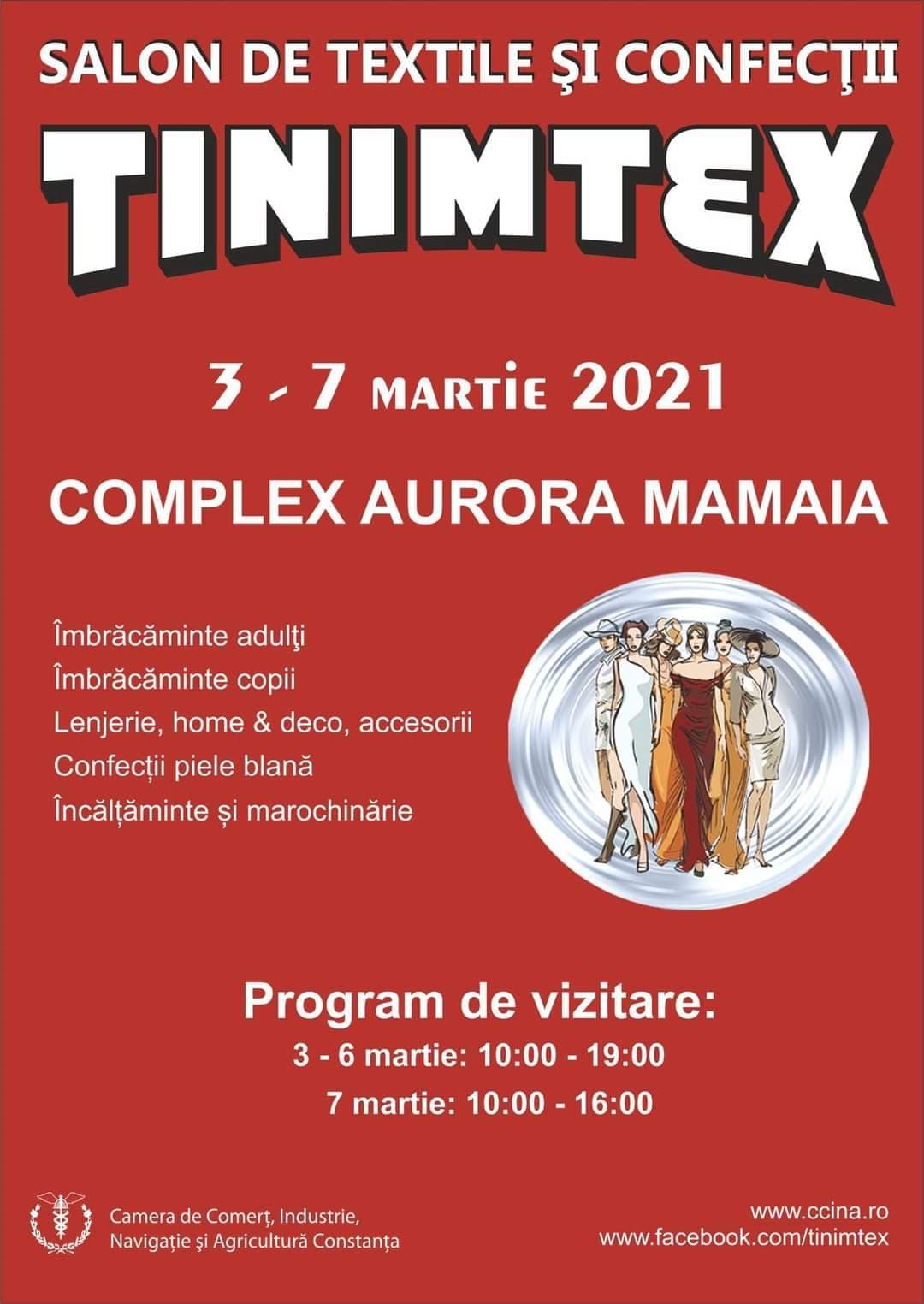 Targ Tinimtex in luna Martie 2021 la Constanta