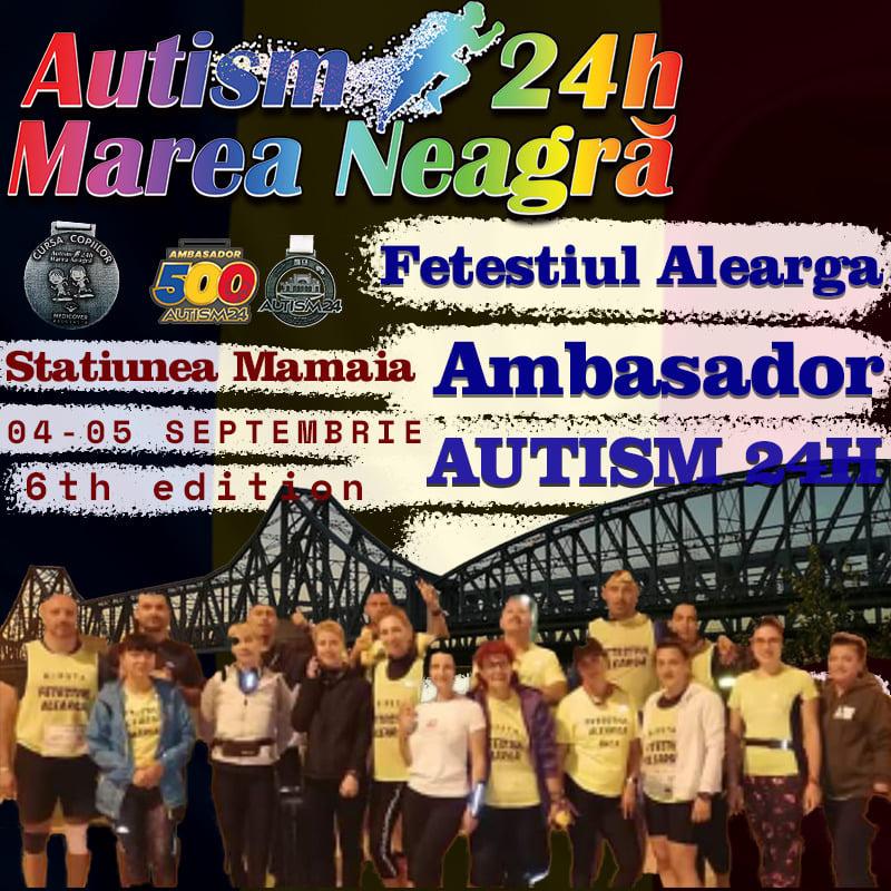 Fetestiul alearga – Autism24H